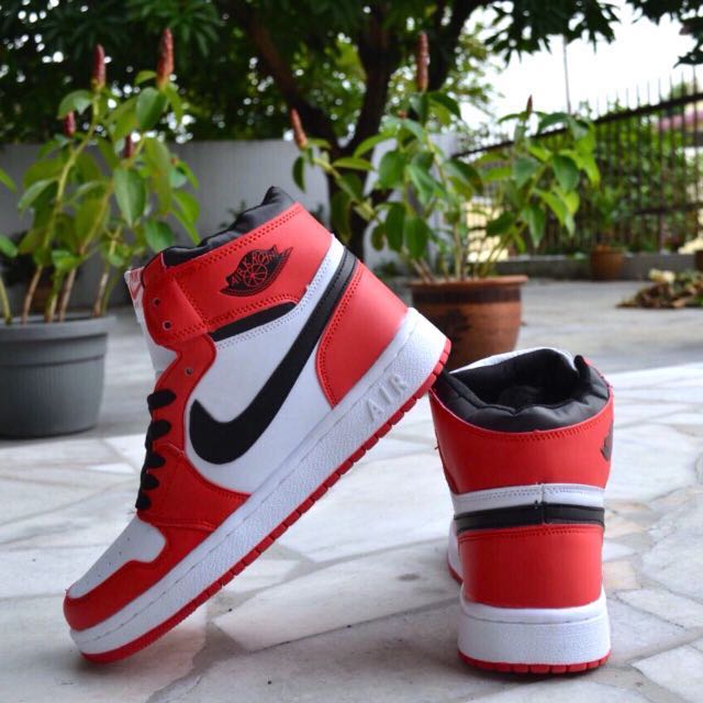 c30030abffb0d8 Nike Air Max Jordan 1 Red White