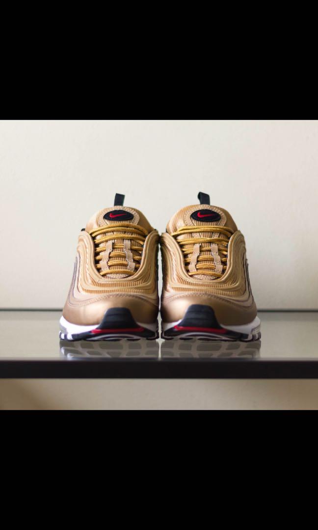 3ec5d1110c NIKE AIRMAX 97 REPLICA GOLD NAK JUAL RM600 SIAPA BERMINAT SILA PM SAYA  ASAP!!!, Fesyen Lelaki, Kasut Lelaki, Sneakers di Carousell