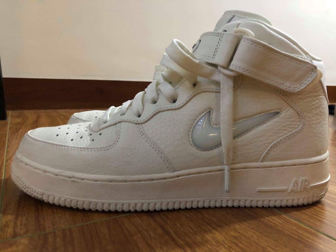 "innovative design 56dba 0c6ea NikeLab Airforce 1 Mid ""Jewel Swoosh"", Men s Fashion, Footwear on ..."