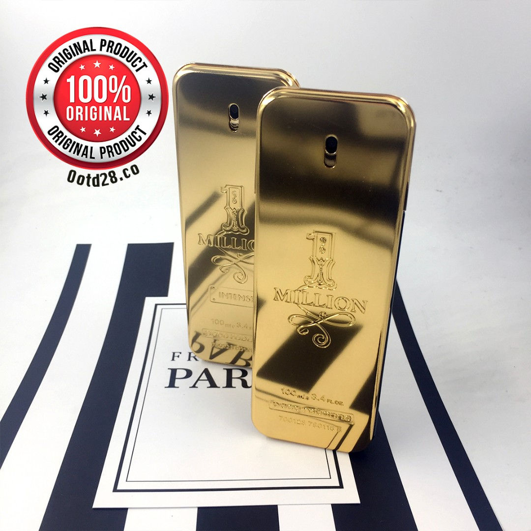 Original Paco Rabanne 1 Million Edt Men Perfume 100ml For Him Restock Parfum The Body Shop Reject White Musk Sport 100 Ml Health Beauty Perfumes Nail Care Others On Carousell