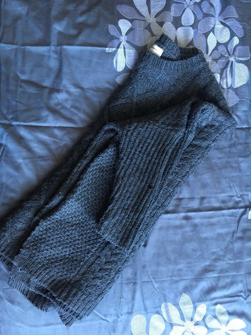 Oversized knitwear