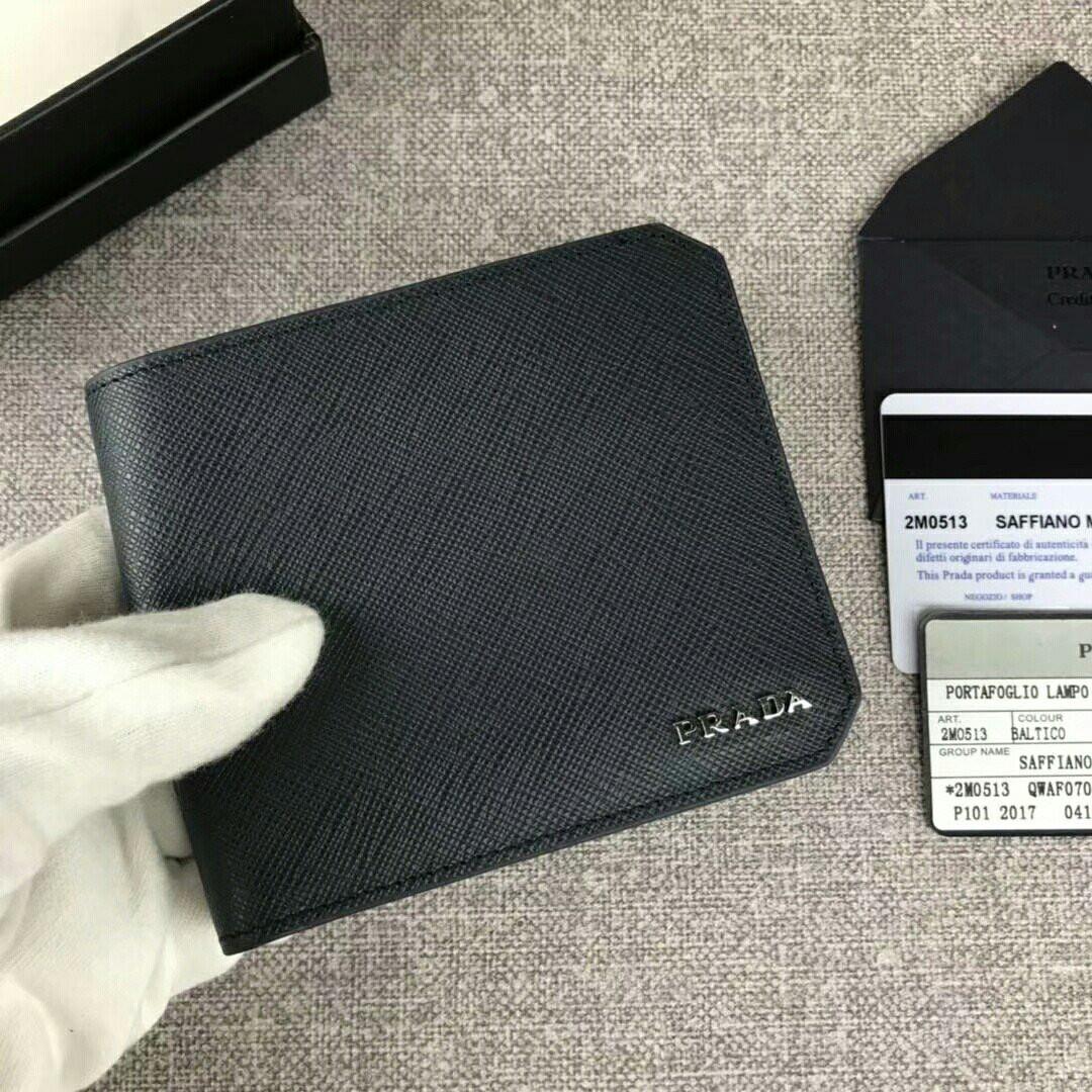 1a922b01f5095e Prada Wallet PW004, Men's Fashion, Bags & Wallets, Wallets on Carousell