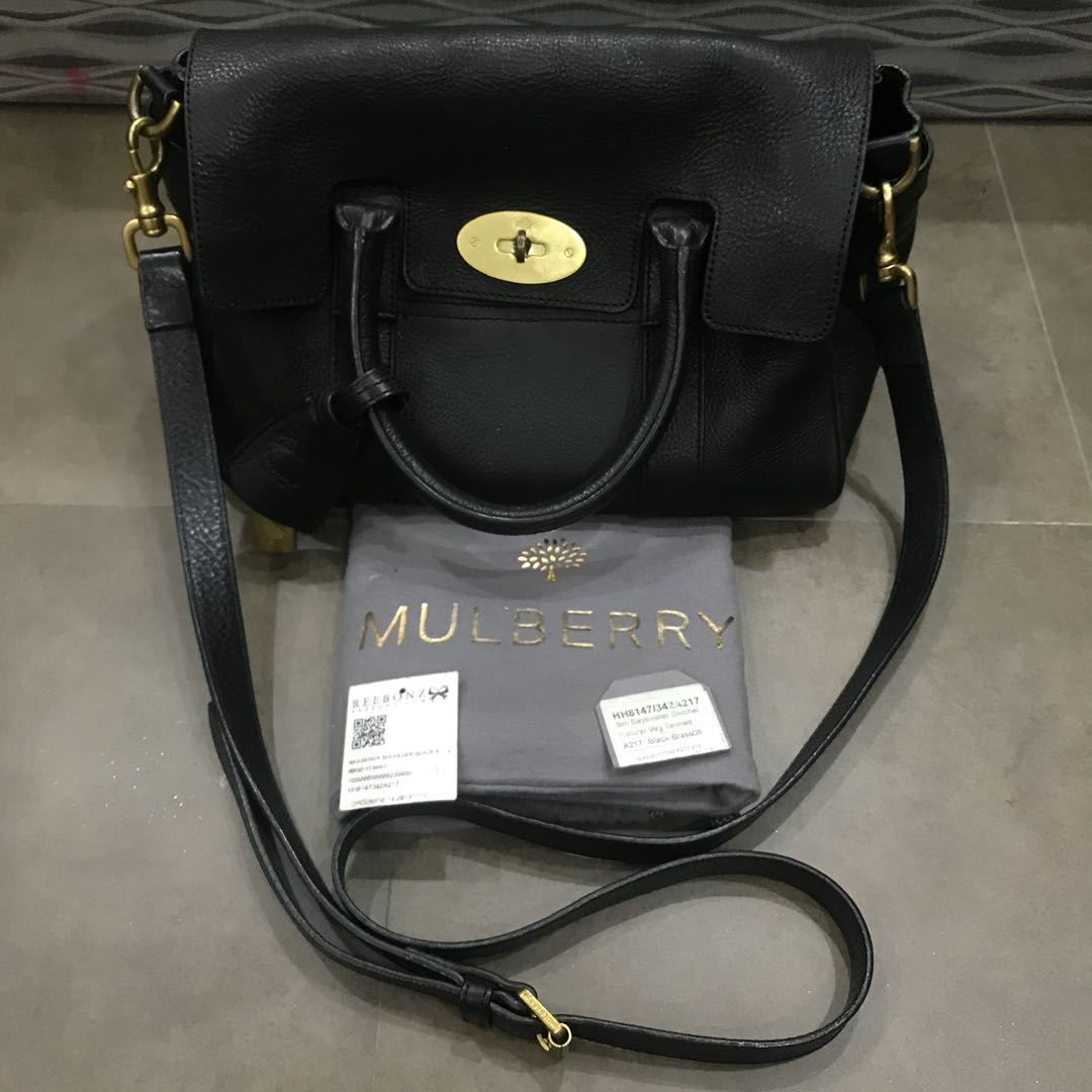 Pre-Owned Authentic Mulberry Small Bayswater Satchel, Luxury, Bags    Wallets, Handbags on Carousell 3469238592