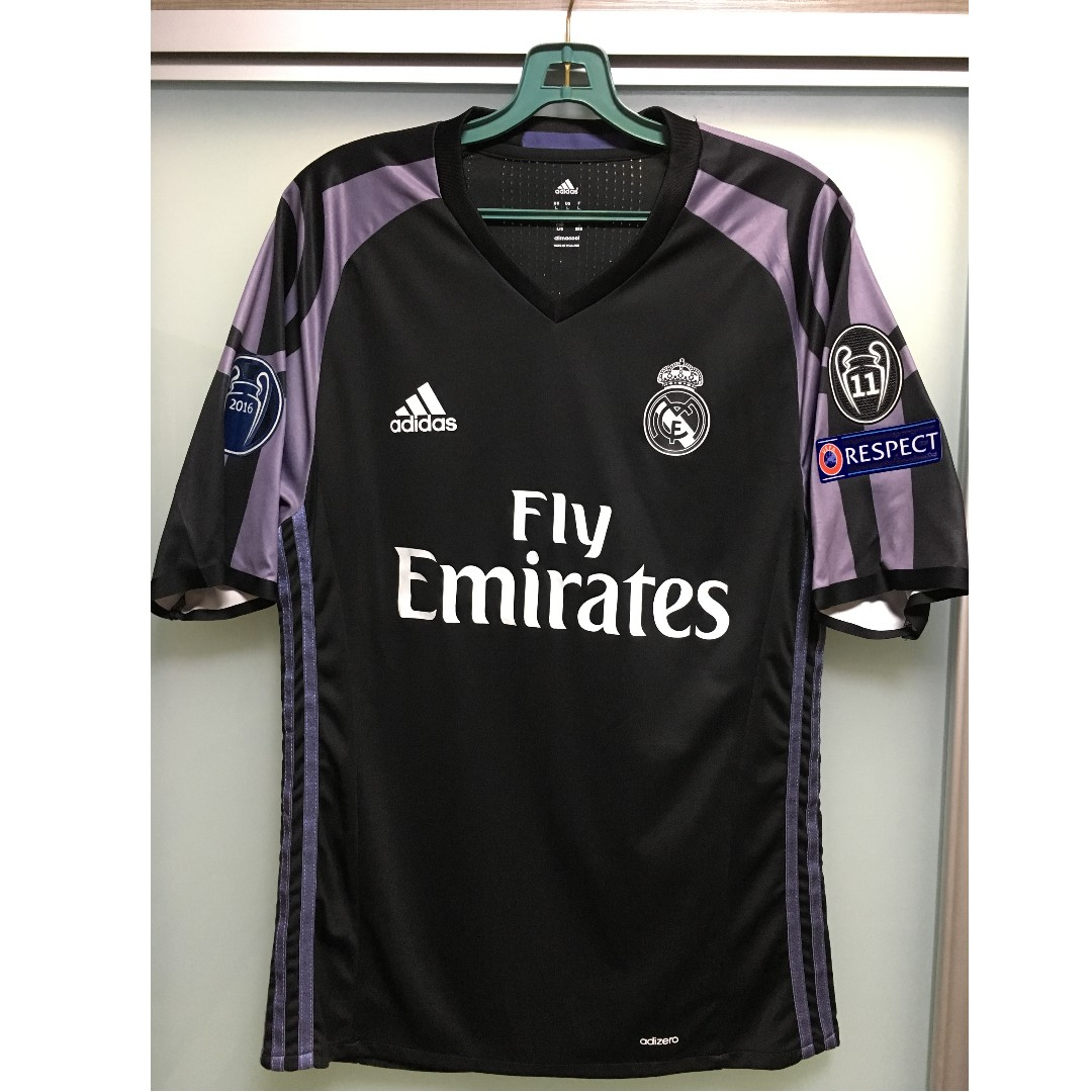 timeless design 46872 1dc1b Real Madrid Away/3rd kit Shirt Jersey, Sports, Sports ...