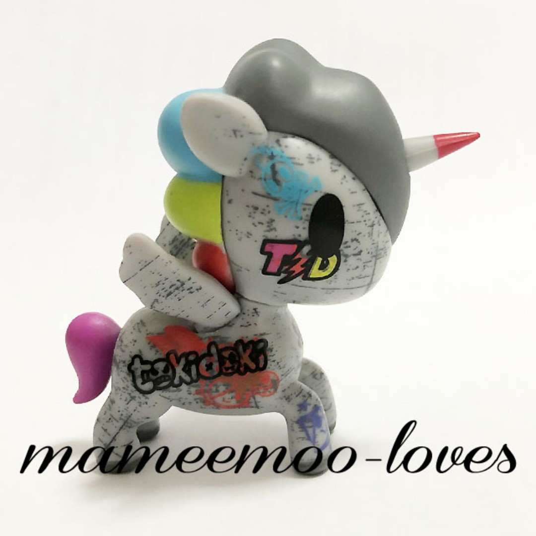 Retired Tokidoki Unicorno VANDALO - Series 2