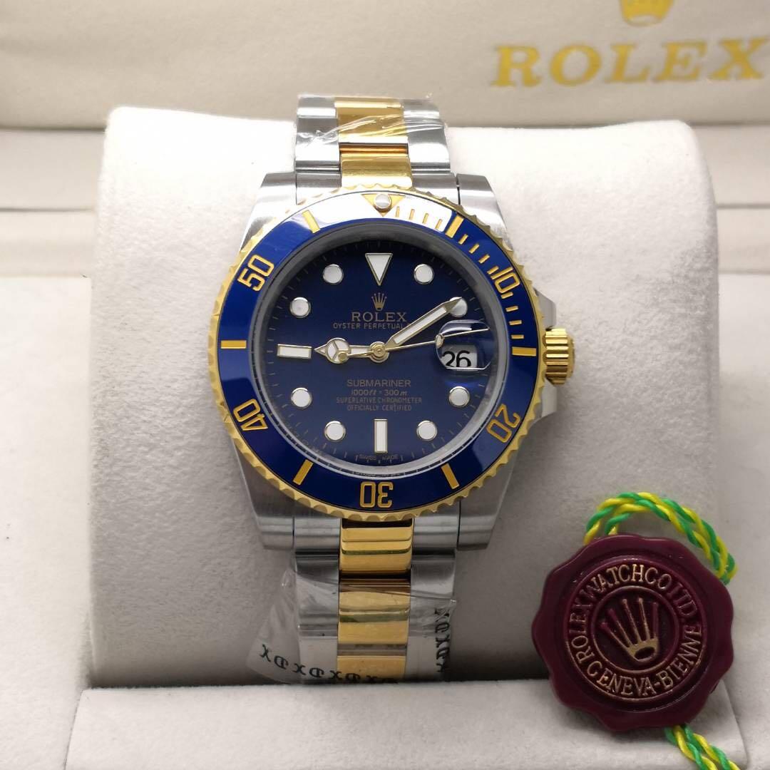 Rolex Submariner Blue Gold Premium Grade