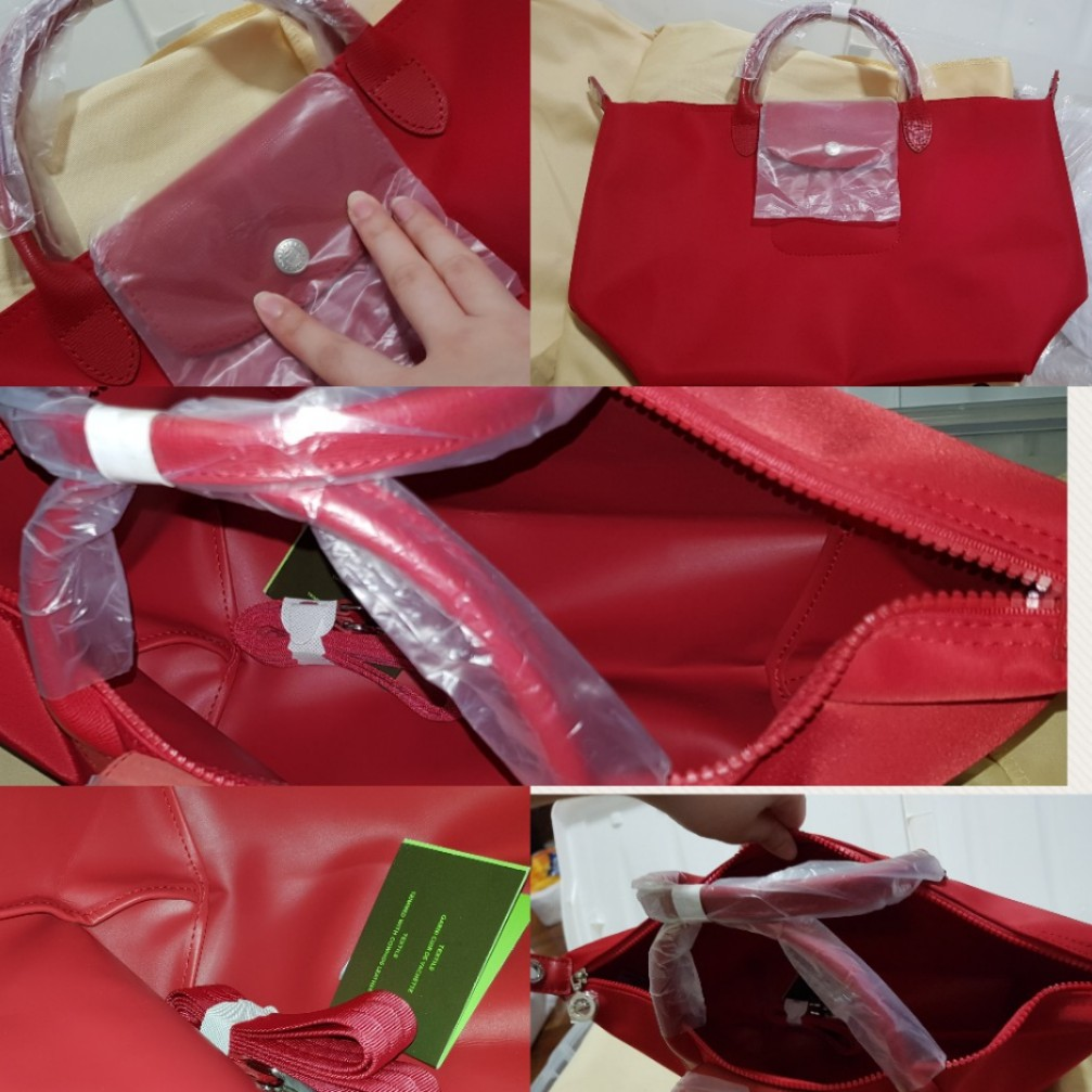061fb104d611 SALE! Longchamp Tote in Red- GREAT SINGAPORE SALE (Last Piece ...