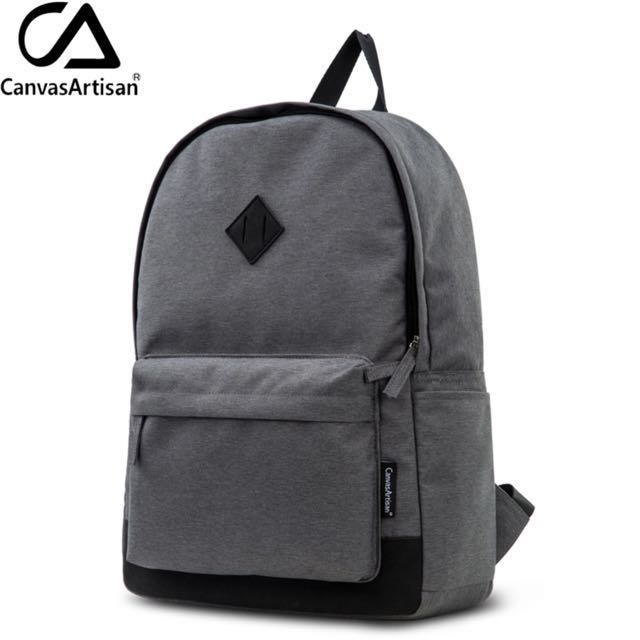 0dea112f26d Sold Out)Canvasartisan Brand New Mens Canvas Backpack Youth College ...