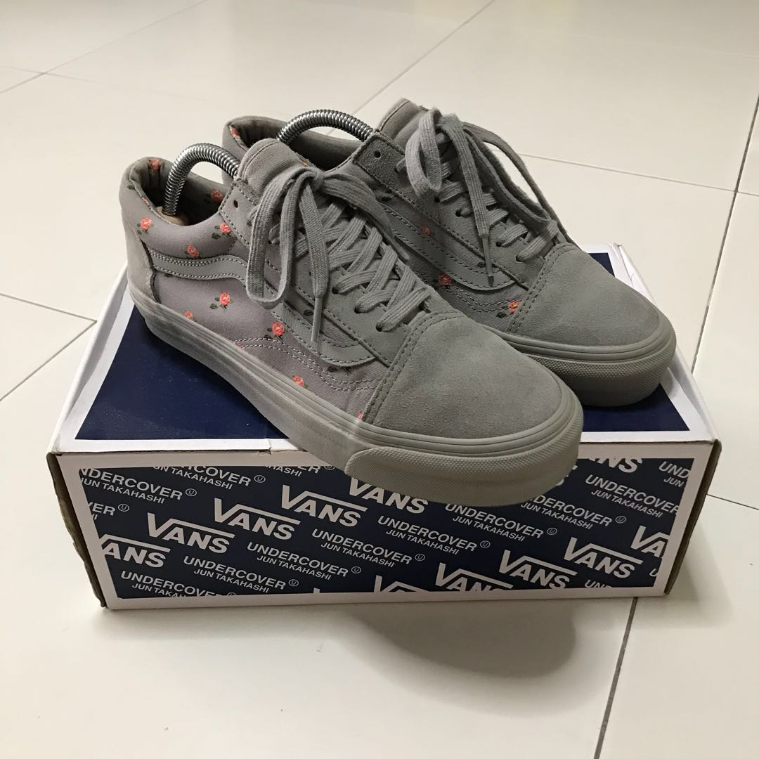 6681273dac Vans x Undercover Small Flower Gray