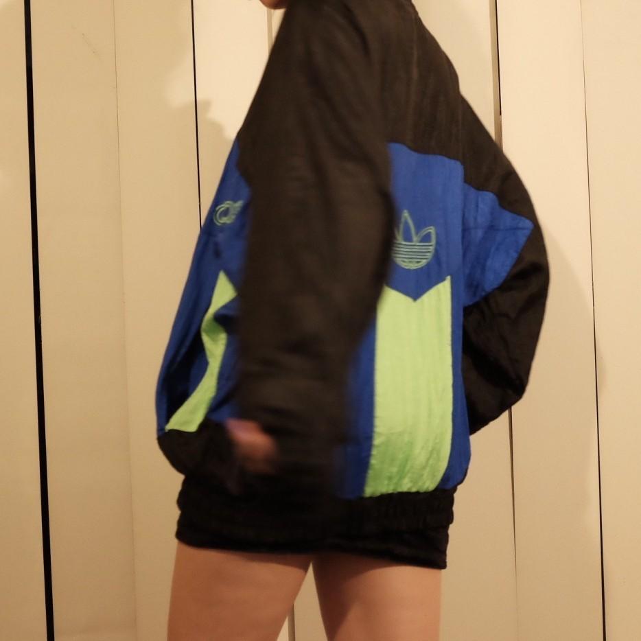 VINTAGE Adidas Windbreaker (Fits XS-M)