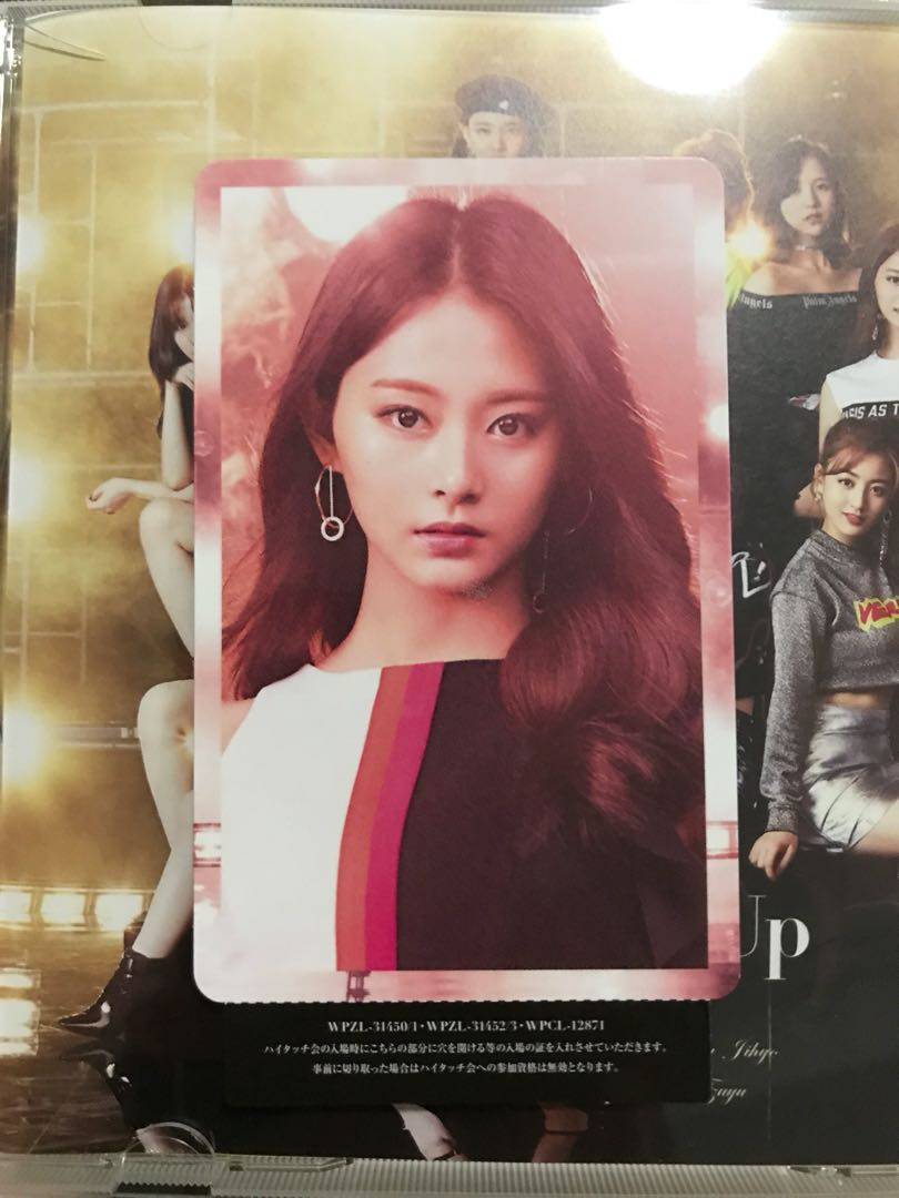 Wts Twice Wake Me Up Tzuyu Photocard For High Touch