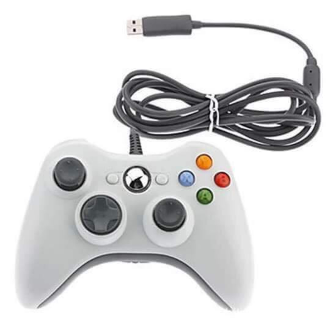 XBOX 360 Game Controller Gamepad USB Wired PC Joypad Joystick ...