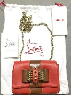 Christian Louboutin Leather Mini Sweet Charity Bag