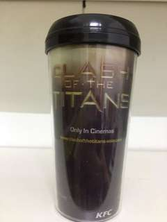 KFC - Clash of the Titans tumbler