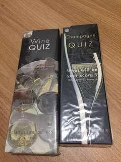 紅酒 香檳 鑒賞書 知識 品酒 Quiz