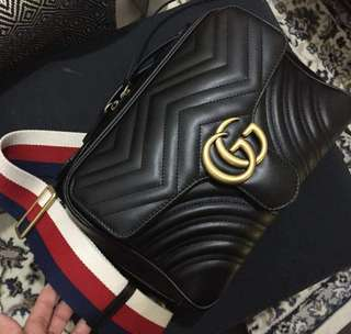 Authentic Gucci top Handle Camera bag