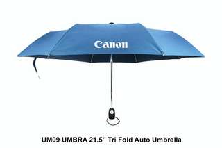 Wholesale UMBRA- 21.5'' Tri Fold Auto Umbrella