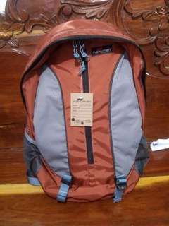 Orange Gray color , Travel bag