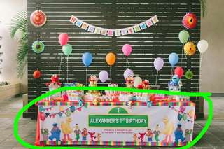 Sesame Street Party Standees Poster Banner