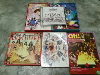 SNSD Girls Generation Album (*CLEARANCE*)