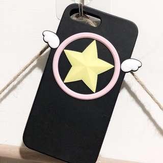 庫洛魔法使 小櫻 星星魔杖 手機殼 保護殼 iphone8 7 plus case
