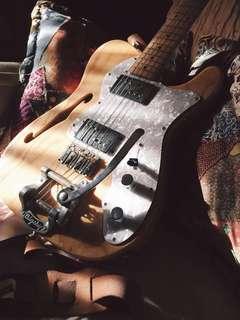 MIJ Fender '72 Telecaster Thinline Reissue