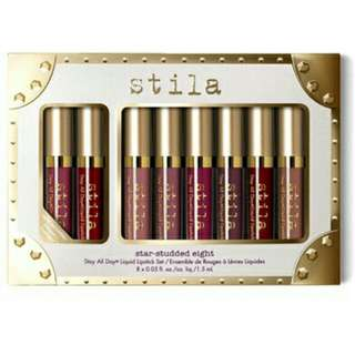 8in1 Stila Star-Studded Lip Cream Lipstick Set
