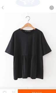 Oversized Flare Top