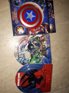 Take 3 superhero fidget