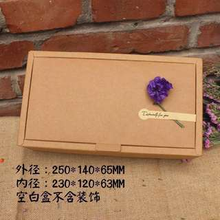 10@RM40 Brown Craft Gift Box