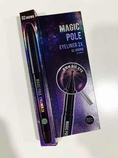 Holika Holika Magic Pole eyeliner brown color
