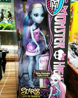 Funbox專櫃購入 Monster high dolls精靈高中芭比