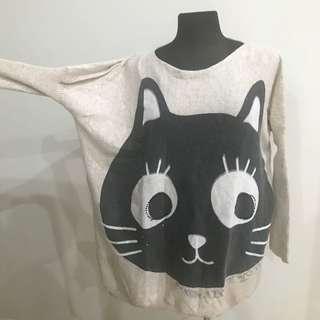 Cute Cat Knit Longsleeve