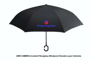 [Wholesale] UMBRA - Inverted Fibreglass Windproof Double Layer Umbrella