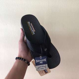 SANDAL SKECHERS ALL BLACK