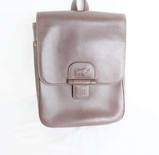 Authentic preloved braun buffel backpack