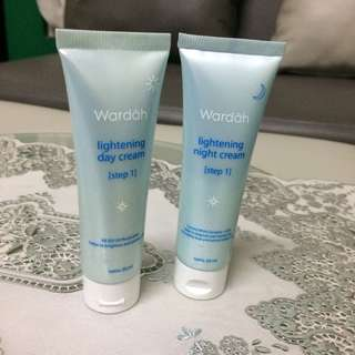 Lightening Day Cream & Lightening Night Cream Wardah
