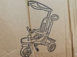 Baby Children Tricycle $60 (self fixing)
