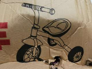 Kids Tricycle @$60 (self fixing)