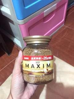Maxim aroma coffee