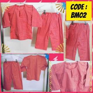 Red Baju Melayu Sz2