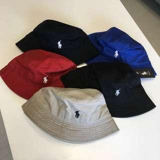 🚚 Polo百搭遮陽時尚漁夫帽布帽登山帽遮陽帽