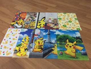 Pokemon Folder From Nintendo Japan only all
