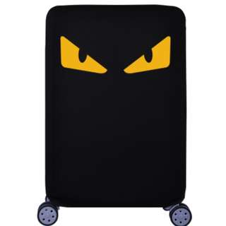 Monster eye Luggage cover