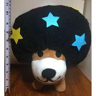 [STUFFED TOYS] AFRO KEN - BLACK STAR