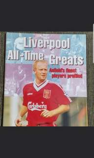 Liverpool all time great magazine