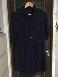 Sm woman Navy dress