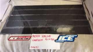 Lidah membran(5cmx50cmx0,5mm)karbon panjang