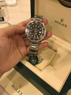 The New ROLEX SeaDweller 43mm Model 126600