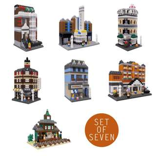 TICO Bricks City Series - Set of 7